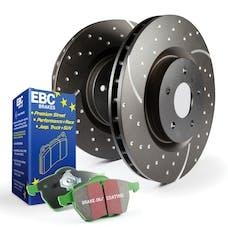 EBC Brakes S10KF1007 S10 Kits Greenstuff 2000 and GD Rotors