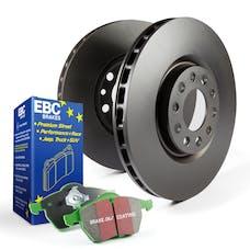 EBC Brakes S11KF1528 S11 Kits Greenstuff 2000 and RK Rotors