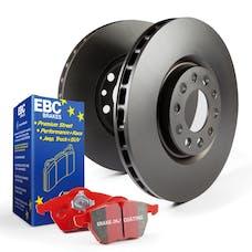 EBC Brakes S12KF1575 S12 Kits Redstuff and RK Rotors