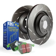 EBC Brakes S2KF1049 S2 Kits Greentuff 2000 and USR Rotors