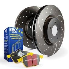 EBC Brakes S5KR1090 S5 Kits yellowstuff And GD Rotors