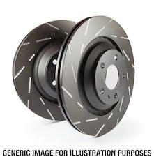 EBC Brakes USR7634 EBC USR Series Sport Slotted Rotor