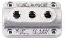 Edelbrock 1285 Fuel Distribution Block