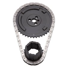 Edelbrock 7338 Timing Chain, Three Bolt Cam