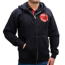 Edelbrock 98229 Sweatshirt Zip Up Edelbrock Scorpion Black (L)