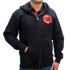 Edelbrock 98230 Sweatshirt Zip Up Edelbrock Scorpion Black (Xl)