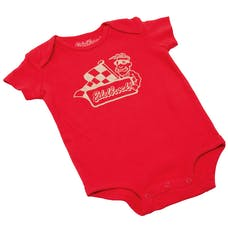 Edelbrock 98979 Onesie Edelbrock/Flag Logo Infant Red (12M)