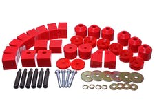 Energy Suspension 1.4102R BODY MOUNT SET 1in. LIFT