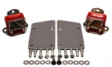 Energy Suspension 3.1149R Conversion Set - Red/Chrome Plate