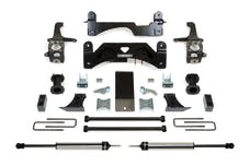 Fabtech K7054DL 6in. BASIC SYS W/C/O SPACERS/RR DLSS 2016 TOYOTA TUNDRA 2/4WD