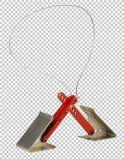 """Fastway 84-00-4000 ONEstep Wheel Chock Adjustable 16""""-24"""""""