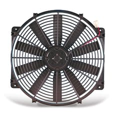 "Flex-A-Lite 112 Fan Electric 12"" single pusher or puller w/o controls"