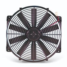 "Flex-A-Lite 119 Fan Electric 16"" single LoBoy pusher w/o controls"