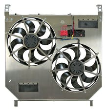 "Flex-A-Lite 274 Fan Electric 15"" dual shrouded with VSC, 2004 to 2007 Ford 6.0L Diesel"