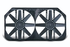 "Flex-A-Lite 282 Fan Electric 15"" dual shrouded puller w/ variable speed control"