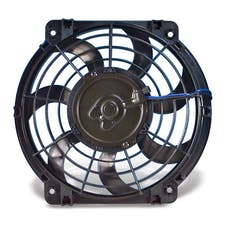 "Flex-A-Lite 390 Fan Electric 10"" single pusher or puller S-Blade universal w/o controls"