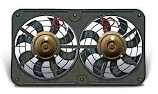 "Flex-A-Lite 440 Fan Electric 12 1/8"" dual shrouded pusher Lo-Profile S-blade w/o controls"