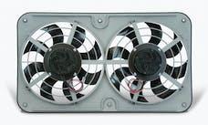 "Flex-A-Lite 480 Fan Electric 12 1/8"" dual push/pull universal X-treme S-blade w/var spd control"
