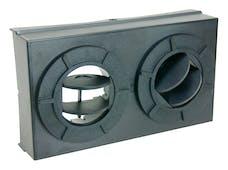 Flex-A-Lite 655 Mojave heater plenum directional control box slim profile