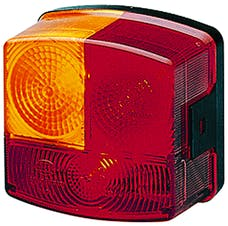 Hella Inc 002776241 2776 Red/Amber Stop/Turn/Tail Lamp RH