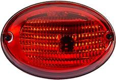 Hella Inc H24130041 3130 Agroluna Surface Mount Red Stop/Turn Lamp