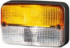Hella Inc H24131041 LAMP TURN/MRKR 7131 AMB/WHT 24V