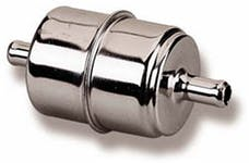 Holley 162-524 Chrome Fuel Filter