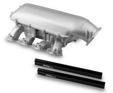 Holley 300-135 Low Rise Multi Carb Intake Man
