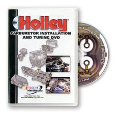 Holley 36-381 36-378 DVD In 5.25in x 7.5in Retail Hard Case