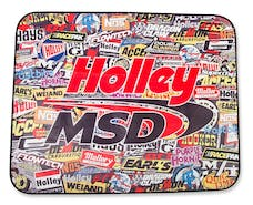 Holley 36-446 Stickerbomb Tire Shade