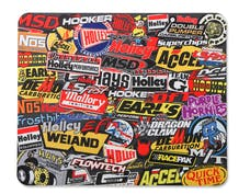 Holley 36-447 Holley Sticker Bomb Style Mouse Pad