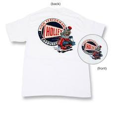 Holley 10012-MDHOL Holley Flathead Shirt (White) Medium
