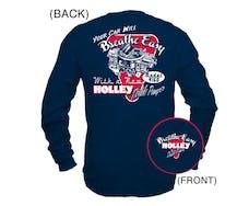 Holley 10015-XXXLHOL T-Shirt - DP - LS - XXX Large