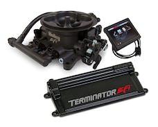Holley 550-441 Terminator Stealth EFI Kit, HC Gray