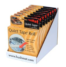 Hushmat 80300 Quiet Tape shelf/counter ready pack include 8 boxed 30300 in one pack.