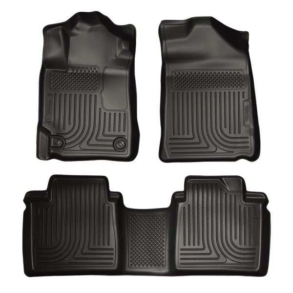 Husky Liners 98511 Weatherbeater Series Front & 2nd Seat Floor Liners