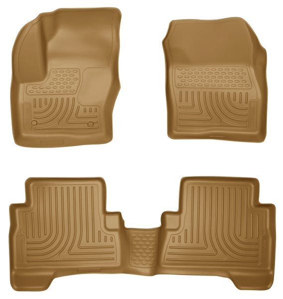 Husky Liners 99743 Weatherbeater Series Front & 2nd Seat Floor Liners