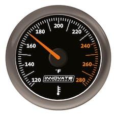 Innovate Motorsports 3861 MTX Analog, Fluid Temp (oil, water, etc.) Gauge Kit, Black Dial