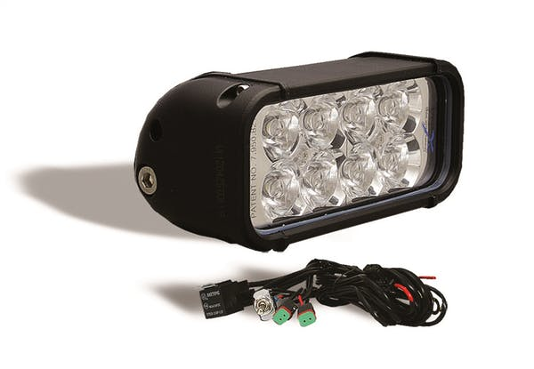 "Iron Cross Automotive IC-6LB 6"" Xmitter LED Light Bar 1,440 Raw Lumens"