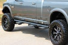 Iron Cross Automotive 9998-MB Wheel to Wheel Heavy Duty 98in Step, Matte Black
