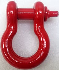 "Iron Cross Automotive 1000-08 3/4"" Shackle Red"