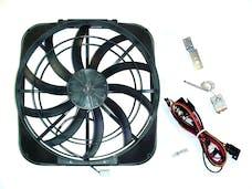 "Maradyne MM12KC Mach Two Shroud Fan - Dual 11"" 225w Side Flanges, Puller"
