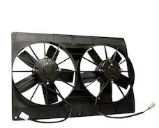 "Maradyne MM22K Mach Two Shroud Fan - Dual 11"" 225w Top/Bottom Flange, Puller"
