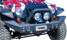 MBRP Exhaust 131174 Front Full Width Winch Bumper Pkg