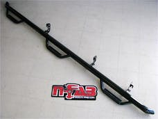 N-FAB C01100CC-6 Nerf Step Step Systems Gloss Black Bed Access