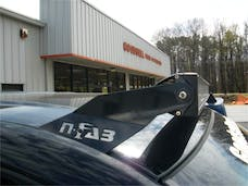 N-FAB C8850LR Roof Mounts L.M.S. Gloss Black 50 Series