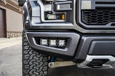 N-FAB F183FB LBM Bumper Mounts L.M.S. Textured Black Multi-Mount System (MMS)