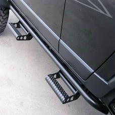 N-FAB H044RKRS4 RKR Step System Step Systems Textured Black Cab Length