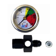 Nitrous Express 15509P Nitrous Flo-Thru Nitrous Pressure Gauge