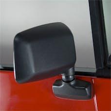 Omix-ADA 11002.18 Door Mirror; Right; Black; 87-95 Jeep Wrangler YJ